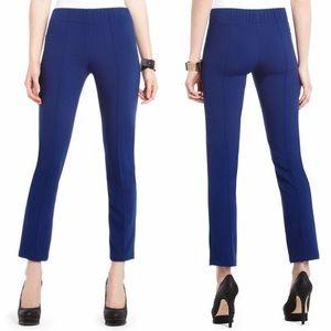 BCBGMaxAzria Slim Fit Crepe Comfy Cobalt Pants
